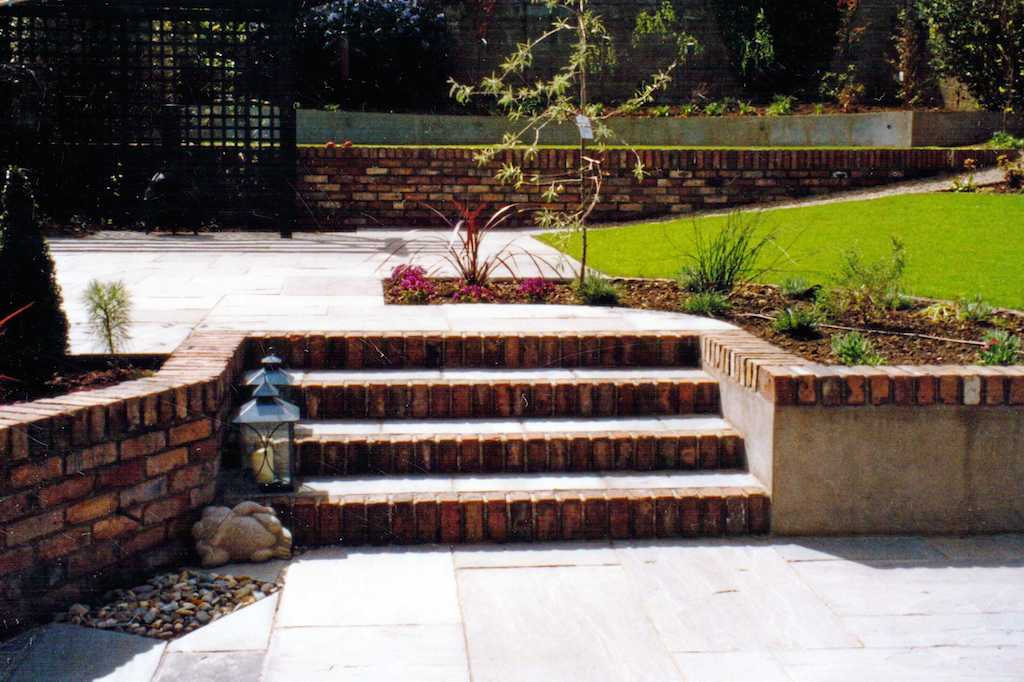 Garden Stone Wall Ideas