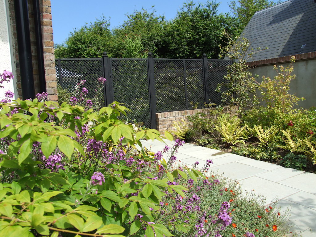 Landscaping With Trellis : Stunning planting for your home garden serenity landscaping kent